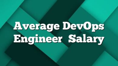 Average DevOps Engineer  Salary