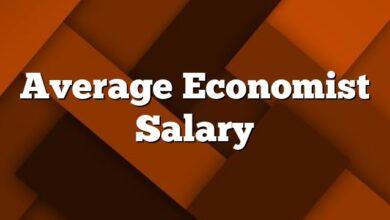 Average Economist Salary