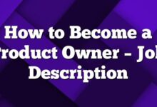 How to Become a Product Owner – Job Description