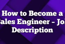 How to Become a Sales Engineer – Job Description