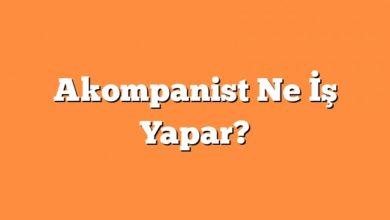 Photo of Akompanist Ne İş Yapar?