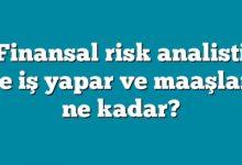 Photo of Finansal risk analisti ne iş yapar ve maaşları ne kadar?