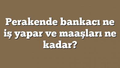 Photo of Perakende bankacı ne iş yapar ve maaşları ne kadar?
