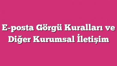 Photo of E-posta Görgü Kuralları ve Kurumsal İletişim