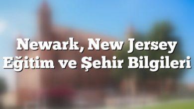 Photo of Newark, New Jersey Eğitim ve Şehir Bilgileri
