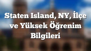Photo of Staten Island Yüksek Öğrenim Bilgileri